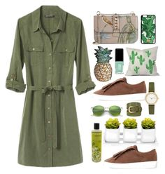 .vegan. by vvasiliana on Polyvore featuring polyvore fashion style Banana Republic MICHAEL Michael Kors Valentino Skagen Dolce&Gabbana Ray-Ban White Stuff Cowshed JINsoon DENY Designs Silken Favours clothing