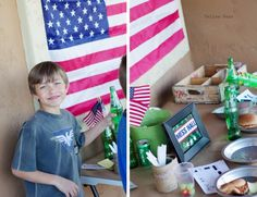 """Army"" Party for Boys (Birthday Boot Camp printables, plus Sloppy G.I. Joes )"