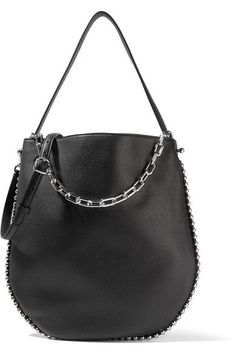 cdd8b00b3133 ALEXANDER WANG Roxy Studded Textured-Leather Shoulder Bag.  alexanderwang   bags  shoulder