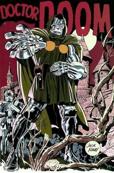 Dr. Doom by Jack Kirby