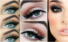 Makijaż do zielonych oczu - jak podkreślić tęczówkę? #oczy #makijaż oczu #makijaż #makijaż zielone oczy