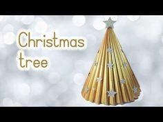 DIY recycled Christmas tree craft