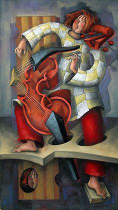 Diego Simancas, pinturas surrealistas de Diego Simancas, pintores españoles