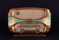 """BEAUTIFUL 1954 OCEANIC FRENCH RADIO model """"SURCOUF"""" / JUKE BOX style"""