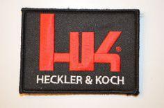 Heckler Koch HK Logo Patch Velcro P7 PSP P7 M8 P7 M10 P7 M13 P30 USP MP5 HK45   eBay