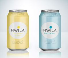 Hwila mineral water packaging by Neumeister 2 - tactical. Mineral Water Brands, Soda, Water Packaging, Beverage Packaging, Water Logo, Water Bottle Design, Packaging Design Inspiration, Mall, Lime