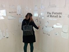 The branding and retail design studio Dalziel + Pow sparked some interest at… Design Expo, Interaktives Design, Media Design, Booth Design, Design Agency, Branding Design, Sketch Design, Design Concepts, Event Design