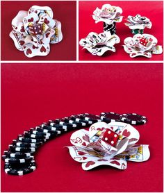 Introducing handmade wedding accessories perfect for vegas + a giveaway! Vegas Theme, Vegas Party, Casino Night Party, Casino Theme Parties, Party Themes, Party Ideas, Casino Wedding, Las Vegas Weddings, Casino Themed Centerpieces