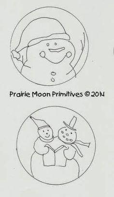 Snowman Coaster Patterns Free For You! (via Bloglovin.com )