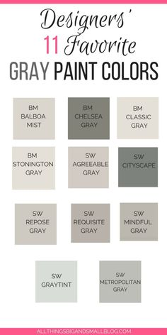 Best 11 Need the best gray paint colors? These light gray paint colors are the best gray paint colors sherwin williams and benjamin moore! Plus see gray paints compared including stonington gray, revere pewter, edgecomb gray, classic gray and more! Neutral Gray Paint, Light Grey Paint Colors, Best Gray Paint Color, Light Gray Walls, Gray Wall Colors, Paint Colours, Best Neutral Paint Colors, Greige Paint Colors, Gray Color Schemes
