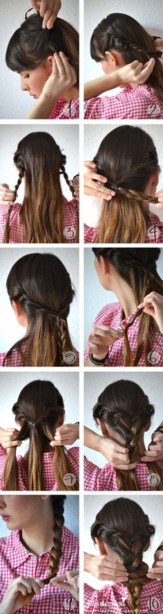 best set of hair tutorials. ever.