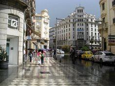 Llueva o no llueva, Granada es increíble... y tú eres de Graná...