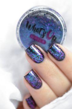 Marine Loves Polish: Mermaid nails ft. What's Up Nails Exotic Flakies [VIDEO TUTORIAL]
