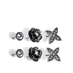 Silver Rose Earrings    Náušnice Silver Rose
