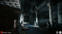 ArtStation - Gears of War: Judgment - Act VI: The Courthouse, Damian Stempniewski
