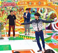 町田樹「明石家電視台」で華麗にジャンプ