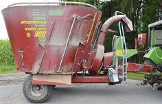 Futtermischwagen Strautmann Vertimix 900 mit Strohgebläse