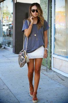 Fashion Cognoscenti Inspiration: Subtle Summer Colors