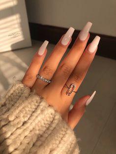 Bling Acrylic Nails, Acrylic Nails Coffin Short, Best Acrylic Nails, Classy Acrylic Nails, Elegant Nails, Stylish Nails, Trendy Nails, Nagellack Design, Acylic Nails