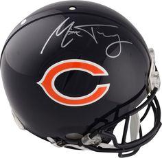 f7d4dbf11c6 Mitchell Trubisky Chicago Bears Signed Riddell Pro-Line Helmet - Fanatics
