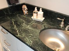 Gentil Featured Residential And Serpentine Countertop Projects   Vermont Verde  Antique Serpentine   The Beauty Of Marble, The Durability Of Granite.