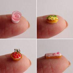 食べるのだったらエクレアがいいけど、お気に入りはスクランブルエッグサンドです。 #ミニチュア#miniature#桜のムース#スクランブルエッグサンド#チェリータルト#エクレア#moussecake#sandwich#cherrytart#eclair#ハンドメイド#handmade#フェイクフード#fakefood#ドールハウス#dollhouse