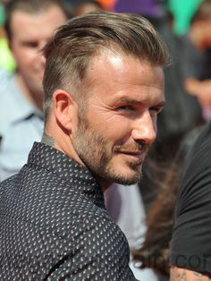 David Beckham Hairstyles Tutorial Mens Style Pinterest - Beckham hairstyle 2015 tutorial