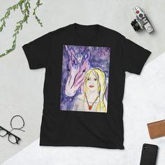 Unicorns Online Portfolio, Unicorns, Illustrator, Shirt Designs, Comfy, Fantasy, Unisex, Clothes For Women, Sleeves