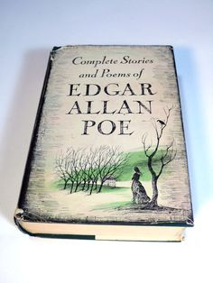 Edgar Allen Poe collection, #etsy, #books