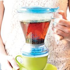 Steeped Tea's new Breazy Tea Infuser is here! Making tea couldn't be easier. SImply rest the Breazy over your cup when you are ready to drink and match your tea filter through! Code 9301. Find your Consultant today.