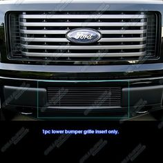 APS F66789H Black Powder Coated Aluminum Billet Grille Bolt Over for select Ford F-150 Models. For product info go to:  https://www.caraccessoriesonlinemarket.com/aps-f66789h-black-powder-coated-aluminum-billet-grille-bolt-over-for-select-ford-f-150-models/