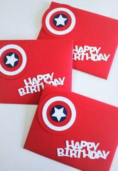 1 pc Captain America Envelope Gift Envelope by pingosdoceu