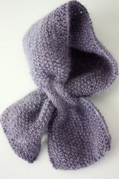 Baby scarf - safest design loops one side through the other. Little Girl Closet, Little Girls, Baby Scarf, Baby Knitting, Knitting Ideas, Crochet Art, Stylish Kids, Chrochet, Sewing Crafts