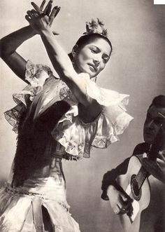 The legendary Carmen Amaya