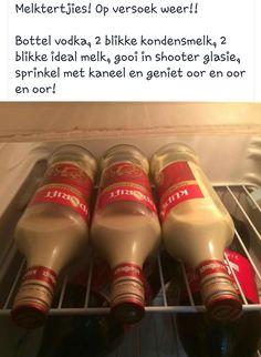 South African Desserts, South African Recipes, Alcohol Drink Recipes, Punch Recipes, Braai Recipes, Cooking Recipes, Kos, Milktart Recipe, Homemade Liqueur Recipes