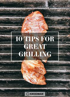 We live to grill! We've shared our 10 favorite grilling tips and some amazing BBQ recipes on the Kikkoman website.