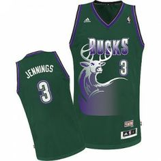 Camiseta Milwaukee Bucks retro - Jennings