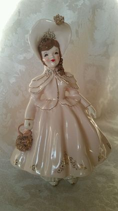 "Extremely RARE Florence Ceramics Child Figurine ""CAROL""."