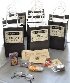 Harry Potter themed party ideas