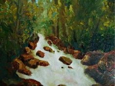 Another world Another World, Landscapes, My Arts, Painting, Paisajes, Scenery, Painting Art, Paintings, Painted Canvas