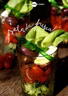 Salada em verrines | Achados da Bia - http://www.achadosdabia.com.br/2012/11/06/saladinha-em-verrines/