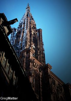 Strasbourg's Cathedral // Pic by Greg Matter