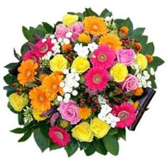 Jubilant Flower Basket to Bosnia-Herzegovina Father's Day Flowers, Flowers By Post, Rose Flowers, Get Well Soon Flowers, Anniversary Flowers, Online Florist, Order Flowers Online, 50th Birthday Gifts, Engraved Gifts