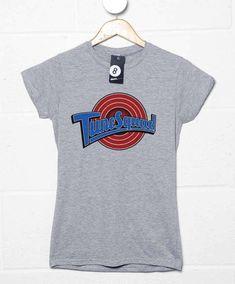 Tune Squad Team Womens T Shirt - Sport Grey / 16-18