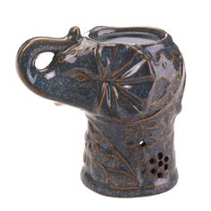 Ceramic Elephant Oil Warmer