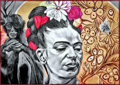 Portrait of Frida Khalo