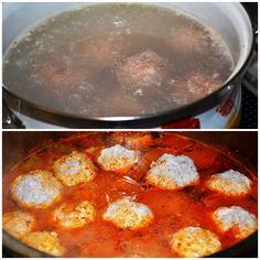 Leczo z cukinią i pulpecikami Curry, Ethnic Recipes, Food, Curries, Essen, Meals, Yemek, Eten
