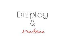 """Porque si tienes una tienda, o tienes tus productos a la venta en alguna feria o encuentro, inspirate en estos bellos y originales""""display"""" ."""