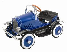 Dexton DX-20236 Deluxe Blue Roadster Pedal Car