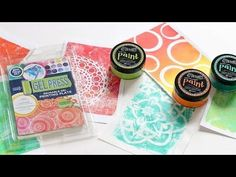 Gel Press: Simple Techniques with Shari Carroll - Simon Says Stamp Blog